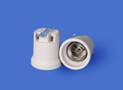 110N with metal bracket, porcelain lampholder E40