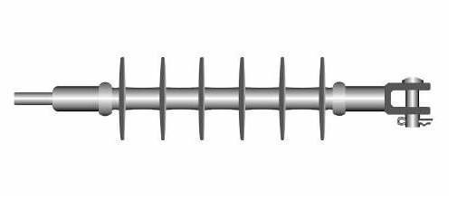 25kV (24kV、20kV) Composite Long Rod Suspension Type Insulato