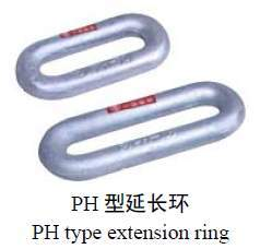 Chain Links Extension Ring (ring monoblock forging)