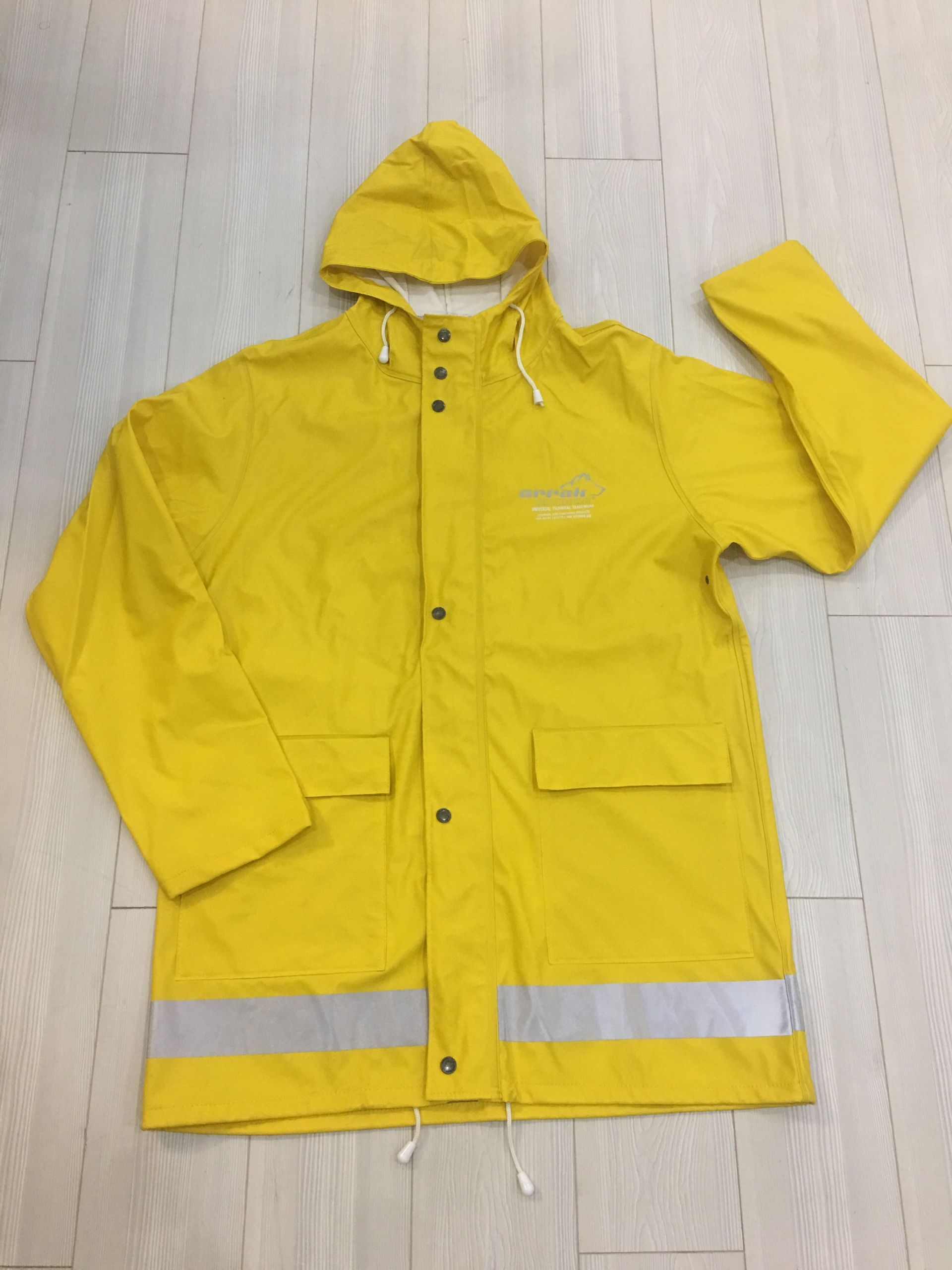 flexible rain jacket