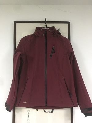 waterproof &breathable softshell jacket
