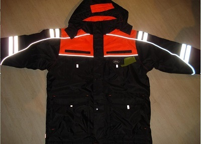 waterproof &breathable padded ski-jacket