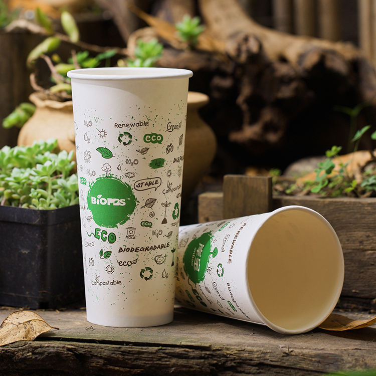 Eco Friendly Raw Material Reusable Paper Coffee Cup
