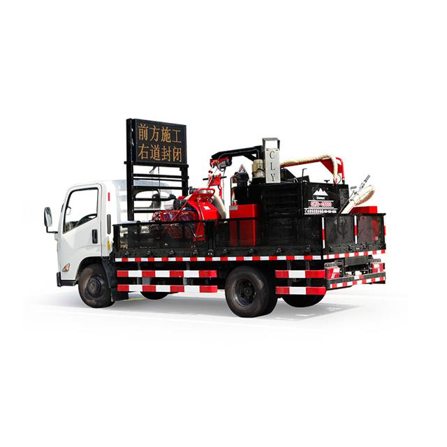 asphalt crack repair machine and asphalt repair.