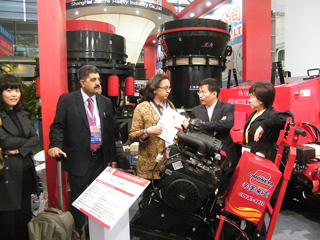 ESUN Presented at Bauma China 2010 in Shanghai