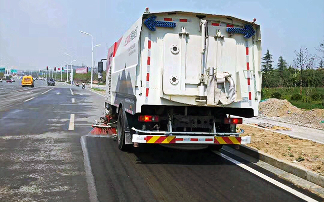 ESN5180TXS Truck Mounted Sweeper with Washer Maintenance