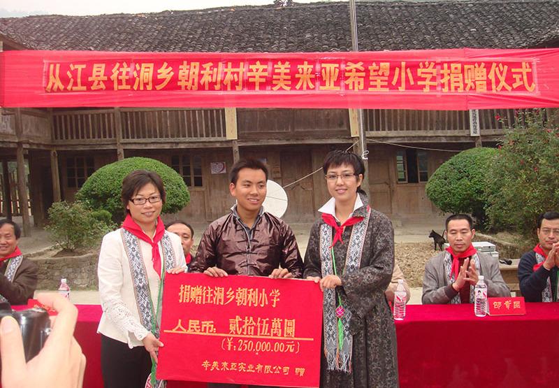 ESUNHelpBuildingPrimarySchoolinCongjiang Guizhou.July2007, ES