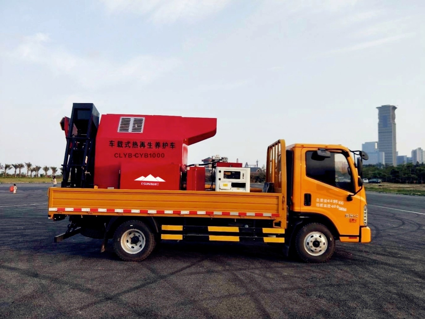 asphalt reclaimer for asphalt pavement roads repairment