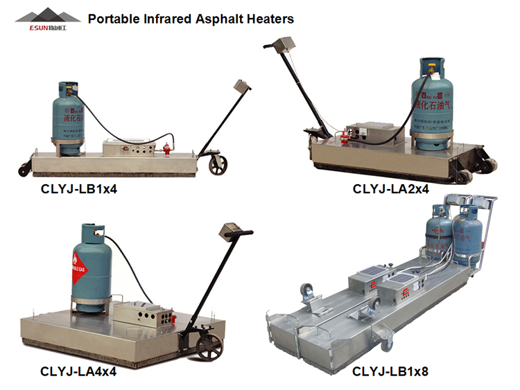 Asphalt Heater for road repair