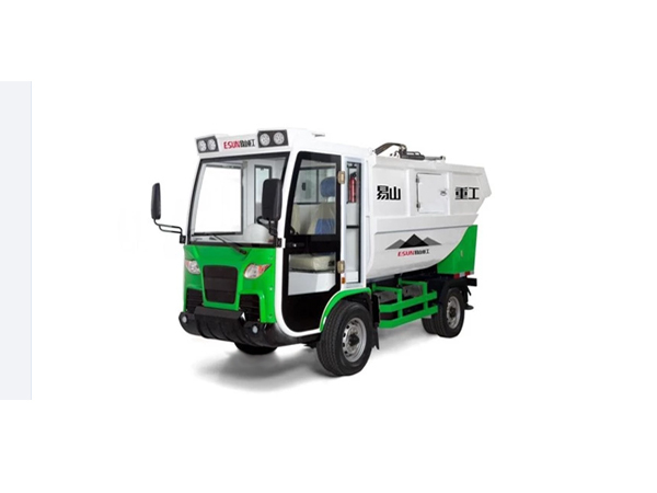 rear-mounted garbage collector