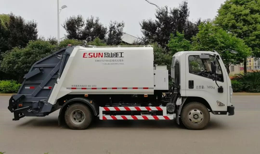About the maintenance of garbage compactor trucks