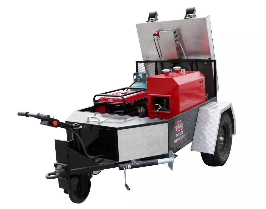 Asphalt pavement hot-repair equipment, quick repair of pavem