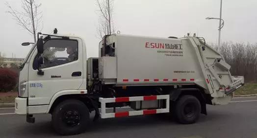 Features Of ESUN Garbage Compact Truck