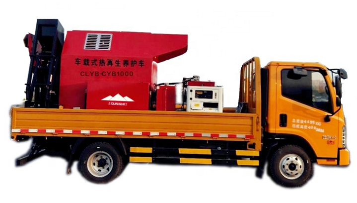 truck mounted asphalt mixer