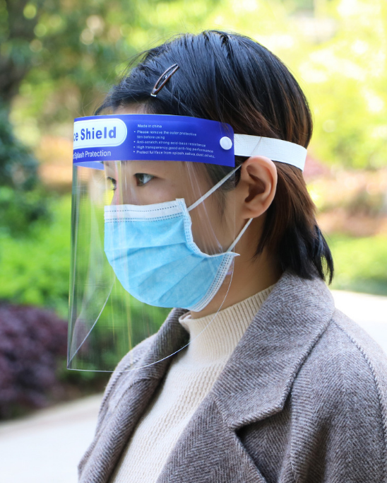 face shield isolation protective mask