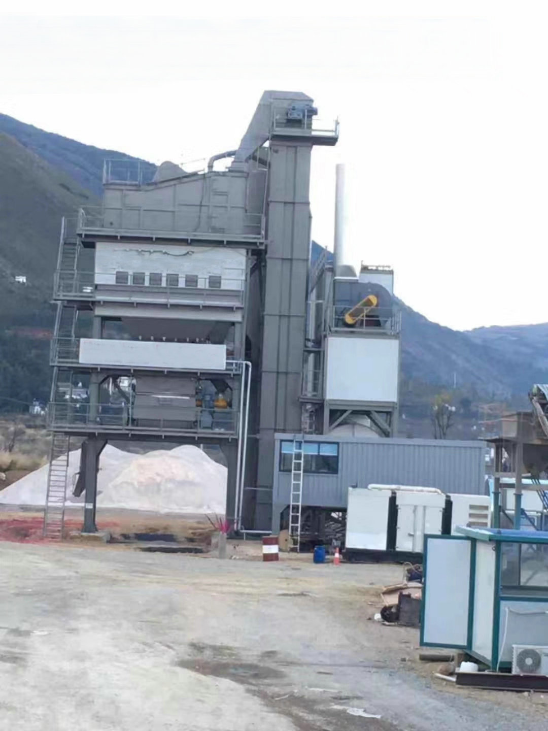 stationary asphalt mixing plant 240t/h in china factory