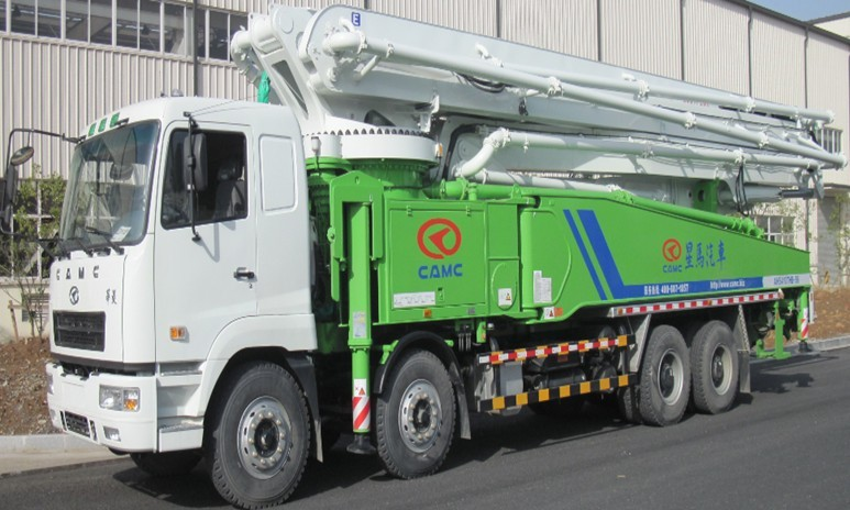 CAMC Truck-mounted Concrete Pump 56m