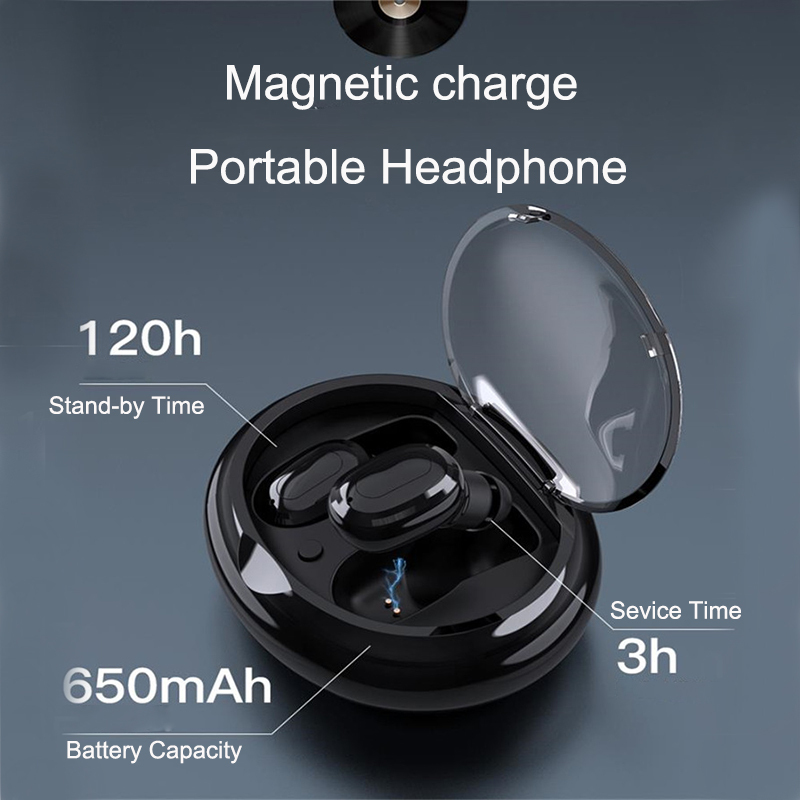 Stability HD Voice Waterproof Wireless Earphones