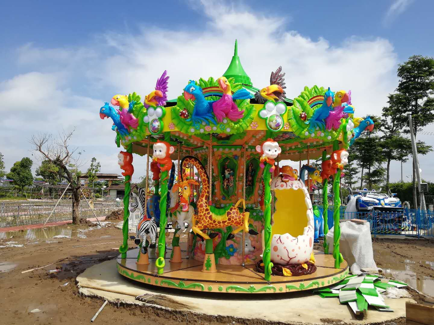 JS-CR1202 Jungle Carousel I