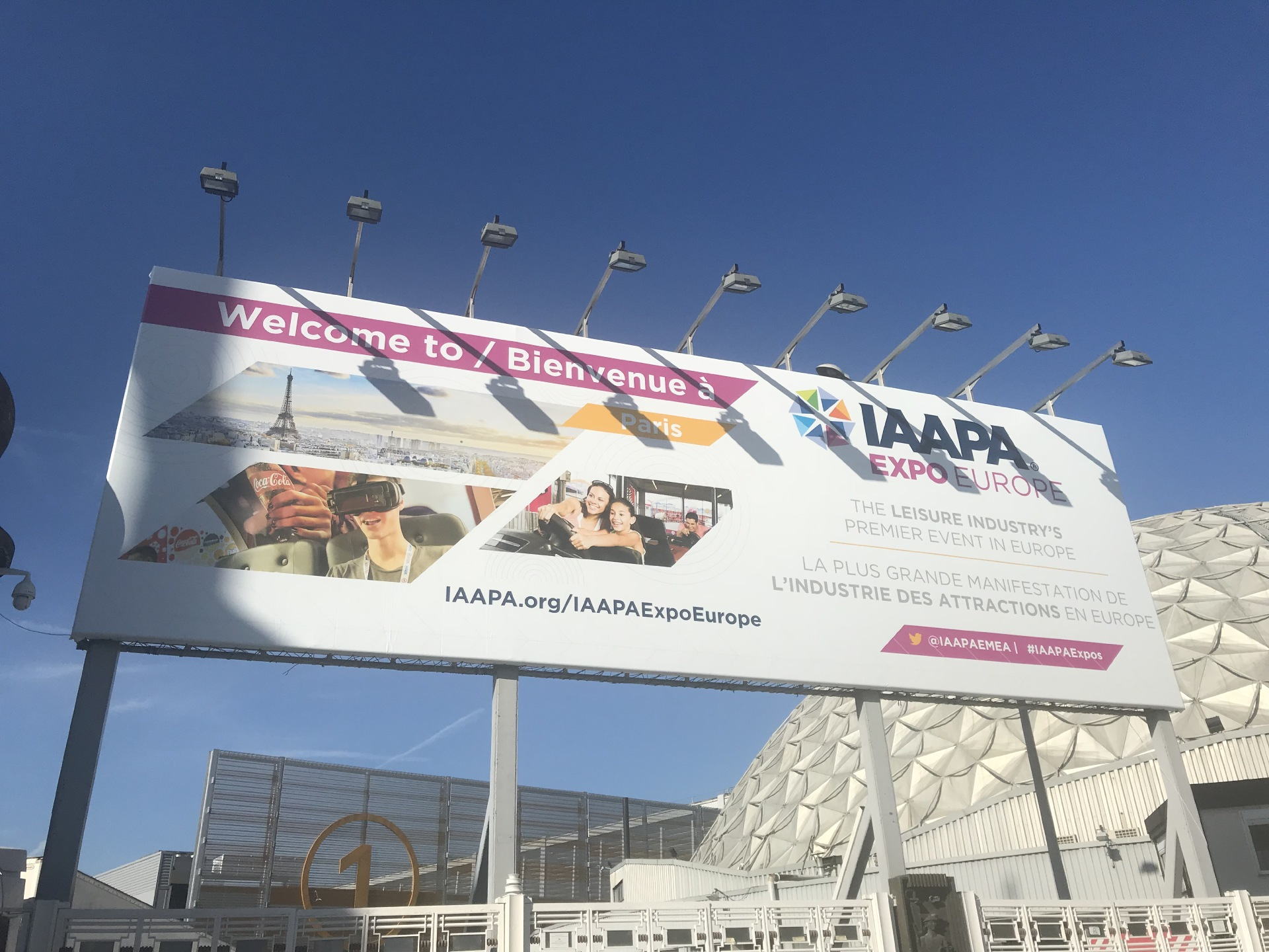 [Exhibition News] IAAPA EXPO EURO in Paris, 2019