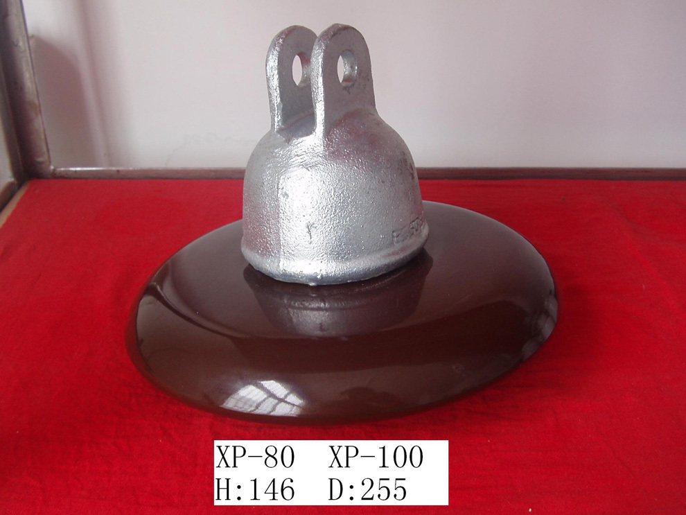 AC Disc Suspension Porcelain Insulator (Normal Type XP-70)