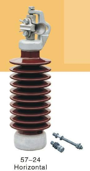Line Post Porcelain Insulator With Top Clamp 57-11 & 57-21 s