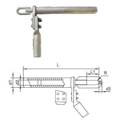 Strain Clamps of Welding Hydraulic Compression Type