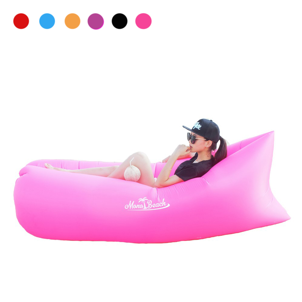 Monobeach Air Lounger Sofa with Carry Bag (Pink)