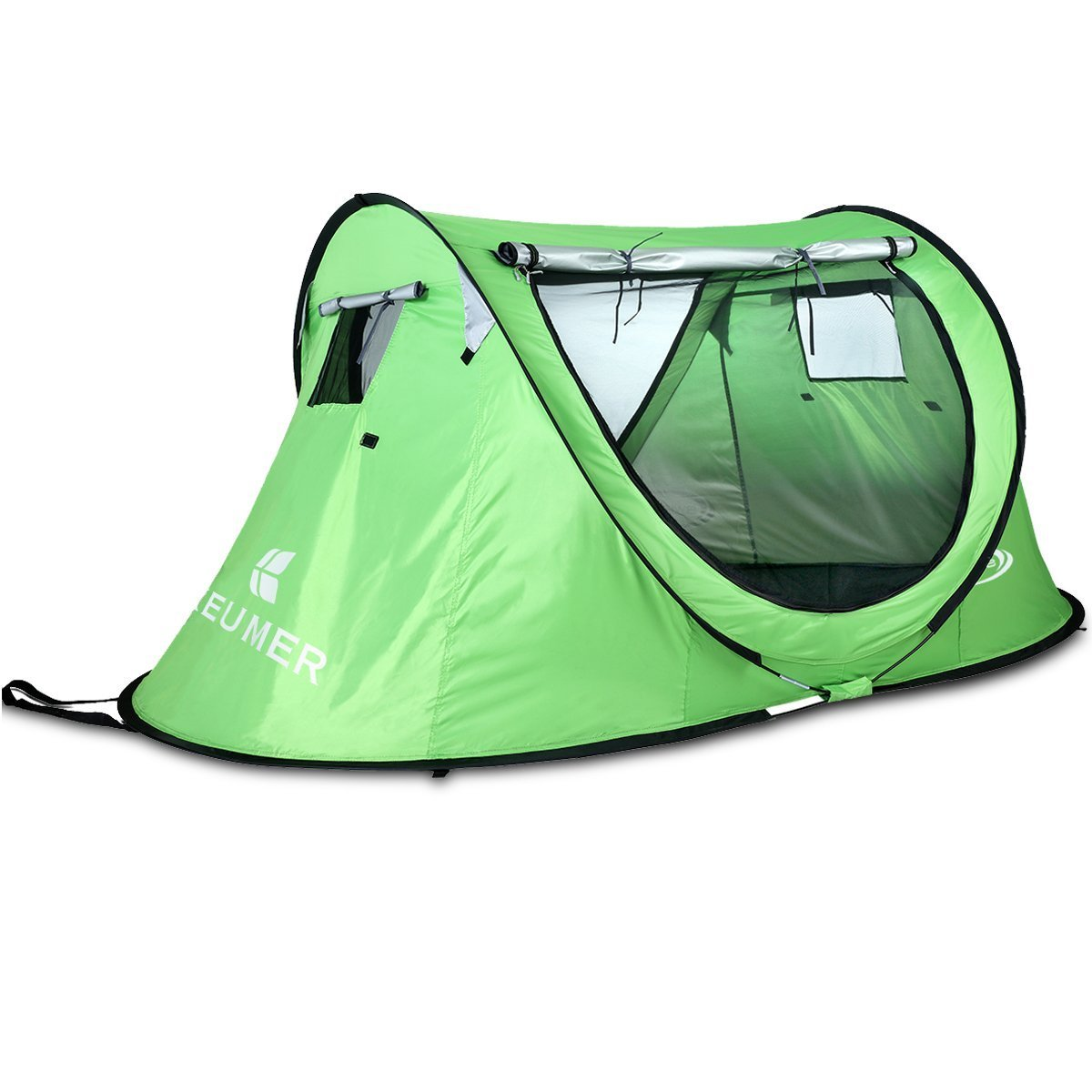 ... Pop Up C&ing Tent for 2 Person Automatic Instant Setup wi ...  sc 1 st  Monobeach & Pop Up Camping Tent for 2 Person Automatic Instant Setup with ...
