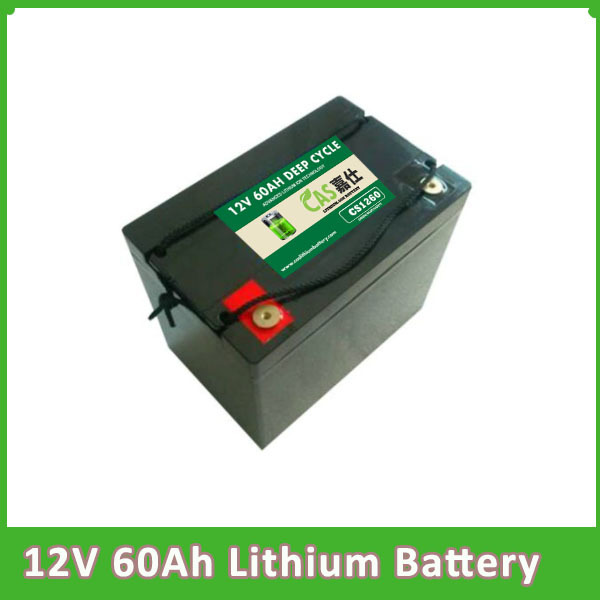 Lifepo4 High Power Lithium Battery 12v 60ah Light Weight Por