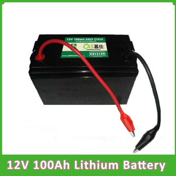 Bluetooh LiFePO4電池12V 100AH鋰電池組