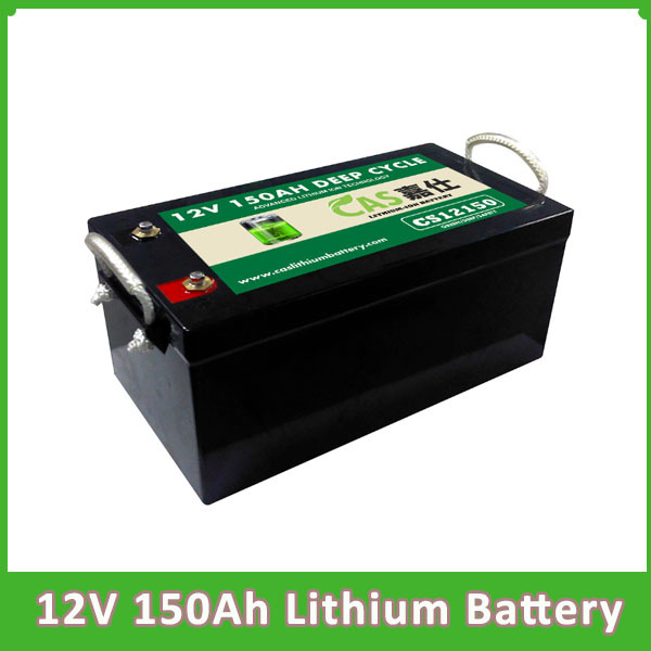 OEM Customized Lithium Ion Battery 12V 150Ah  LiFePO4 Batter