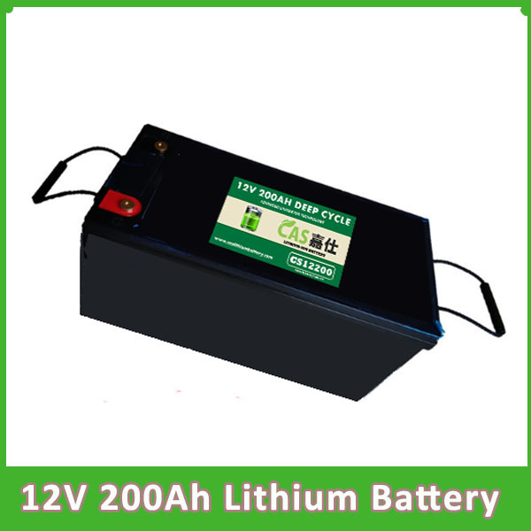 Rechargeable Deep Cycle Lifepo4 12v 200Ah Lithium Ion Batter
