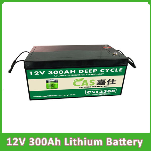 LiFePO4 Battery 12V 300AH Deep Cycle Rechargeable Battery Pa