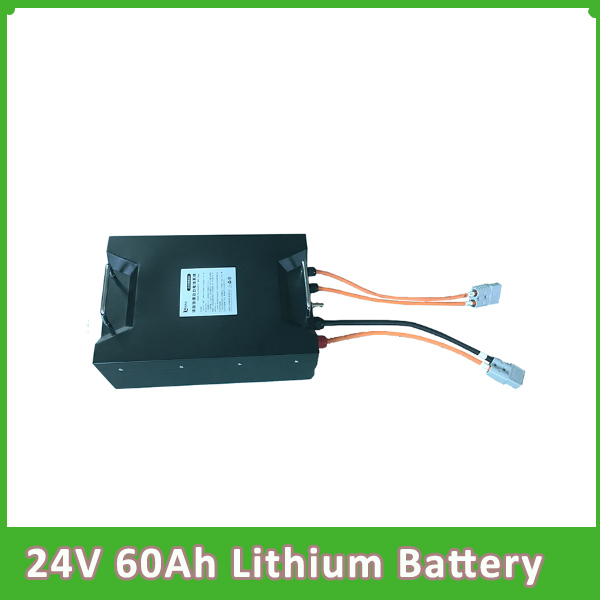 24v 60ah  lithium ion batterie rickshaw car electric bike li