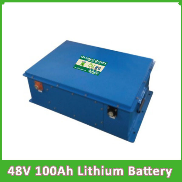 Deep cycle 48V 100AH Lithium Battery for Electric tricycle