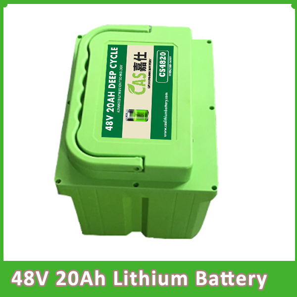 Deep cycle 48V 20AH Lithium Battery For Electric vehicle