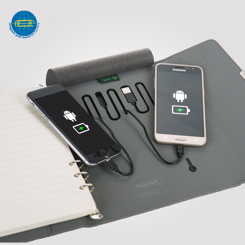 6500mAh Power Bank Notebook     MK-015