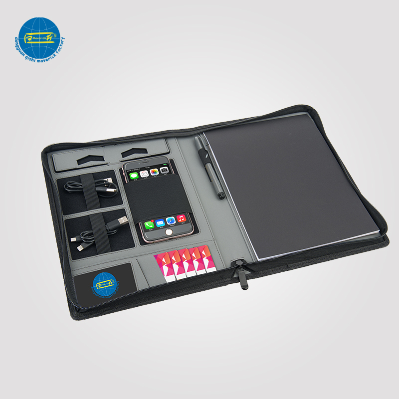 Power Bank Folder With Phone Holder