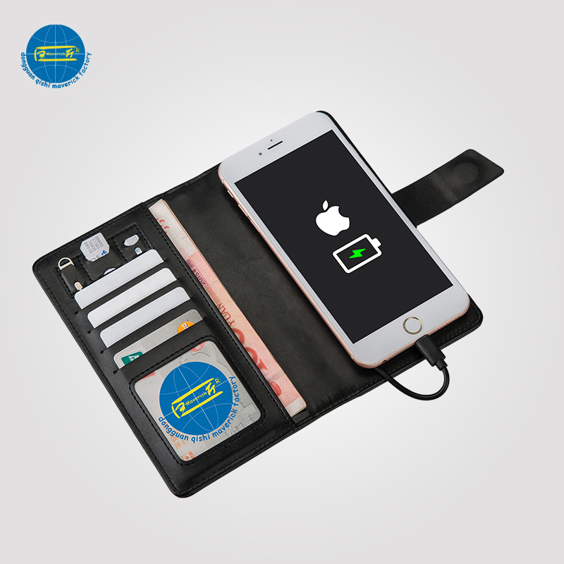 Power Bank Wallet / Phone Holder with Card Case     MK-025k