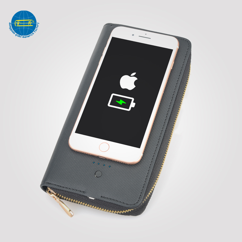 Latest Wireless charging Wallet     MK-037WS