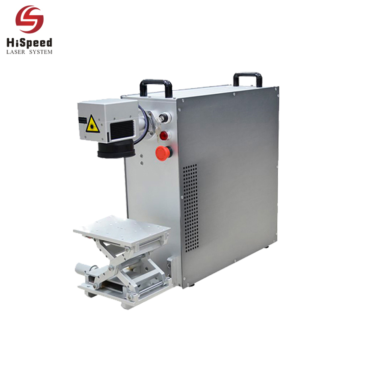 Mini 20 Watt Portable Fiber Laser Marking Machine