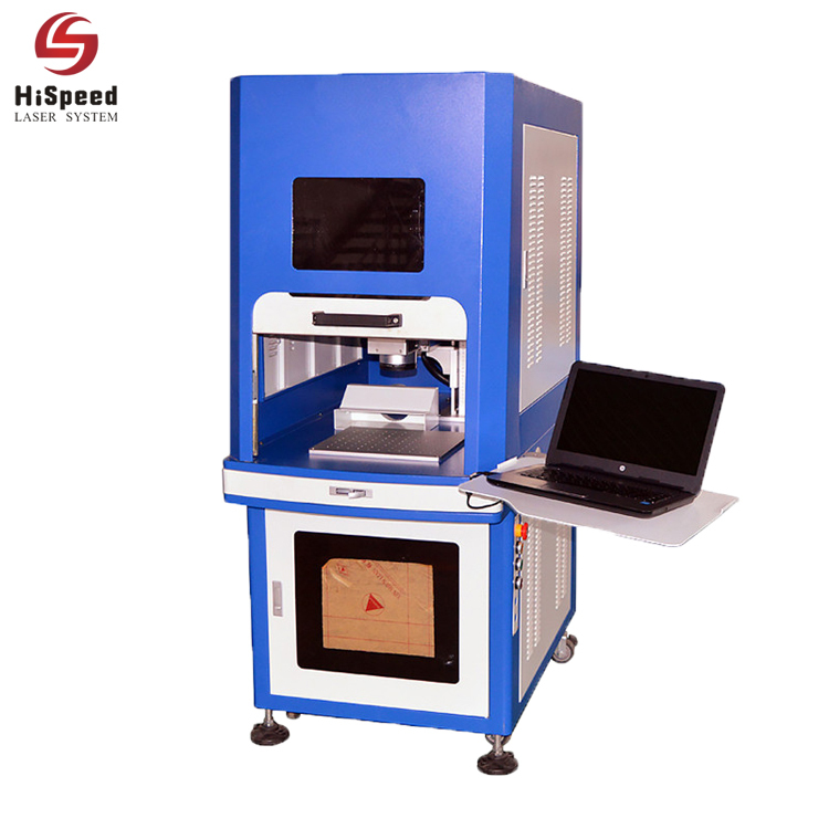 High Precision Enclosed Fibre Laser Deep Metal Laser Marking