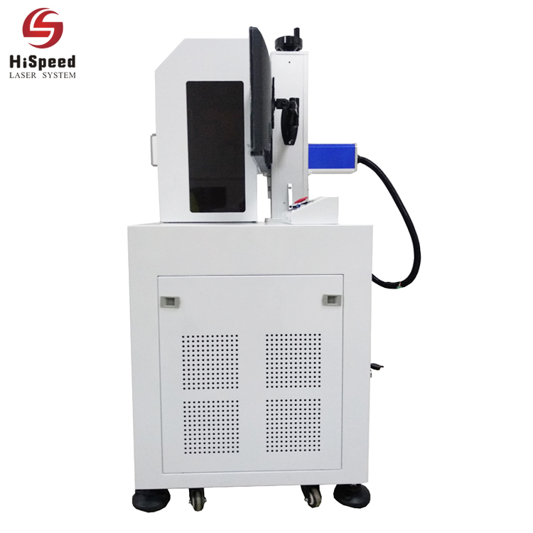 Enclosed Cabinet Fiber Laser Engraving Marking Machine