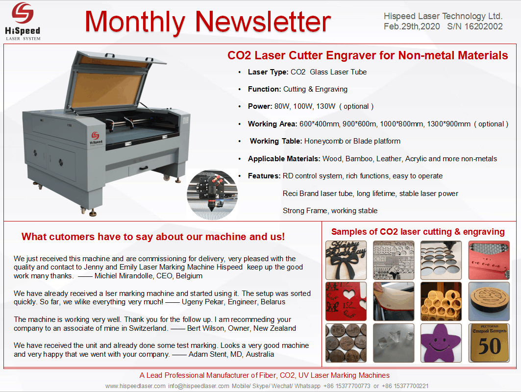 Monthly Newsletter- February.Thank you for your attention!