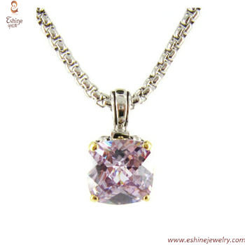 ST1238P - Manufacture & wholesale Blue Tanzanite CZ pendant