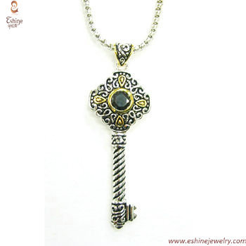 PE2892 - wholesale sterling silver Vintage rope & bali style
