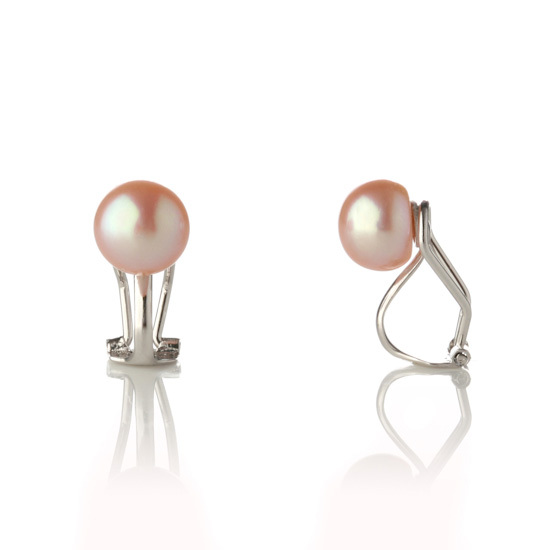 Pearl earring collection - Triangle shape Fresh pearls with