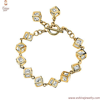 Magic Cube bracelet - amazing designs that put AAA Clear CZ