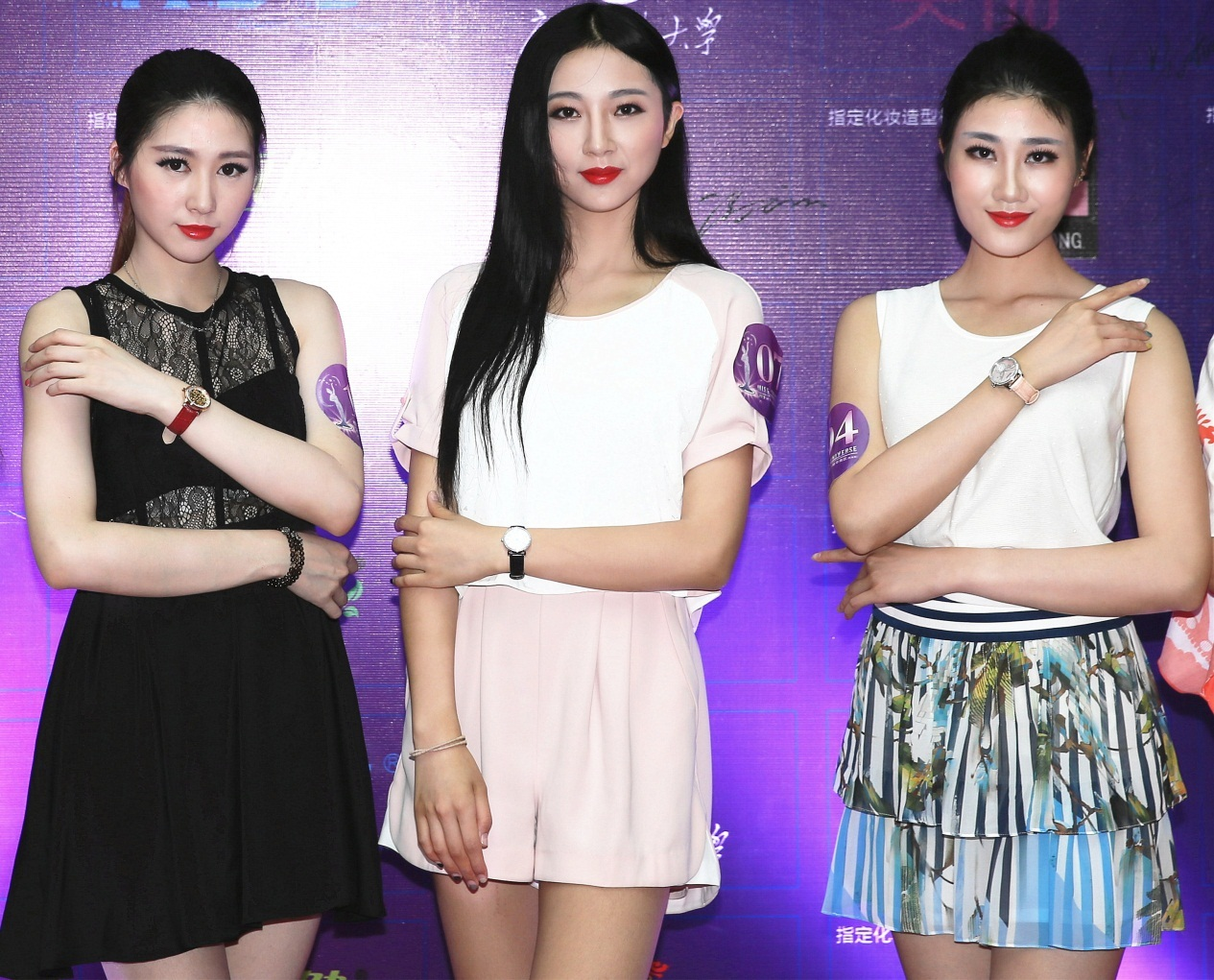 荣耀赞助2015年环球小姐中国大赛